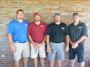 First Flight Team at 13th Annual Golf Tournament