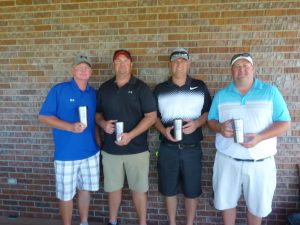 Champion Flight Team at 13th Annual Golf Tournament